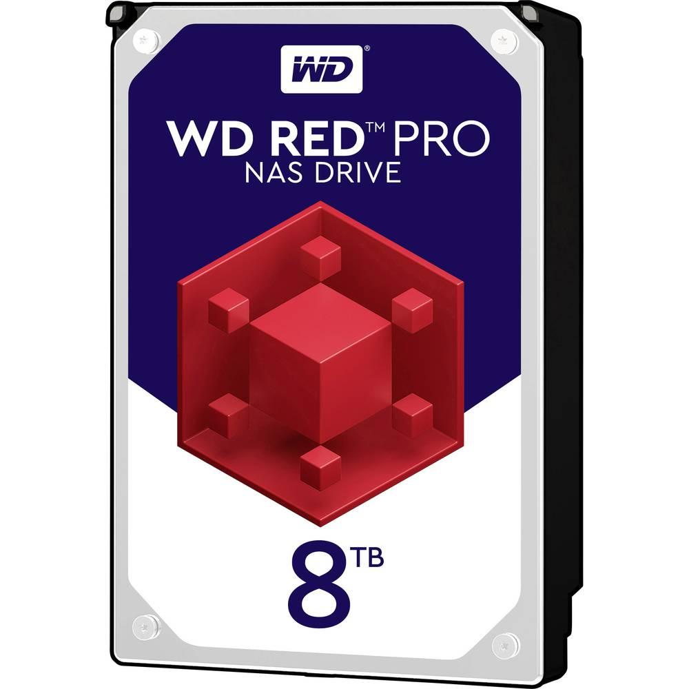Western Digital WD Red™ Pro 8 TB Hårddisk 3.5 SATA 6 Gb/s WD8003FFBX Bulk