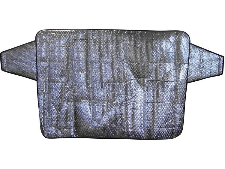 IWH Voorruitfolie Aluminiumcoating, Diefstalbescherming (b x h) 180 mm x 85 mm Vrachtwagen, SUV, Van, Bus Zilver