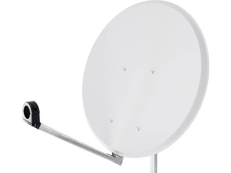 Smart Click-Clack Satellietschotel 65 cm Reflectormateriaal: Staal Wit