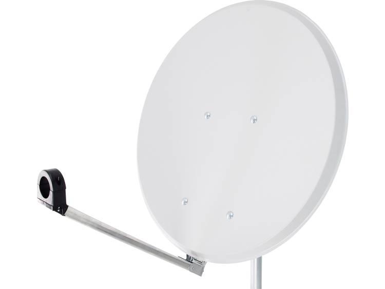 Smart Click-Clack Satellietschotel 55 cm Reflectormateriaal: Staal Wit