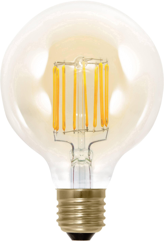segula 50292 led lamp e27 bol 6 w 30 w goud dimbaar filament retro led energielabel a a e 1 stuks