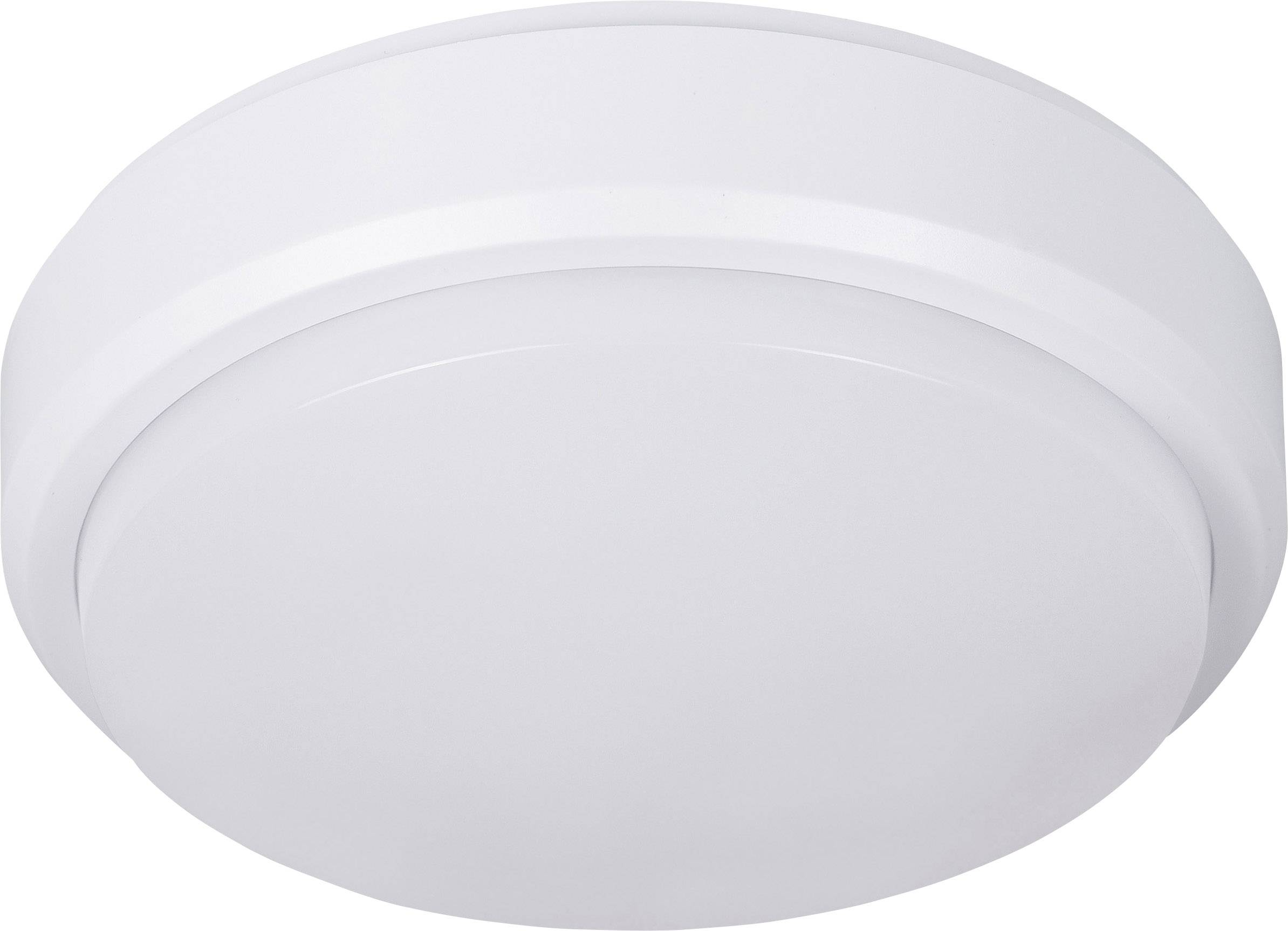 LED-lamp met bewegingsmelder voor vochtige ruimte IP54 8 W LED vast ...