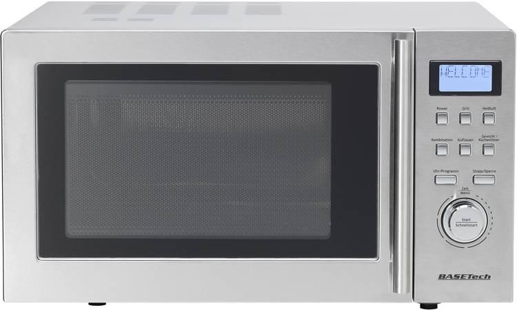 Image of Basetech D90D25 Magnetron 900 W Grillfunctie, Heteluchtfunctie, Timerfunctie