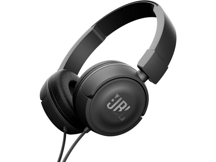 JBL Harman Koptelefoon Kabel On Ear Headset Zwart