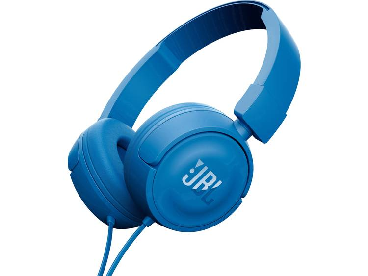 JBL Harman Koptelefoon Kabel On Ear Headset Blauw