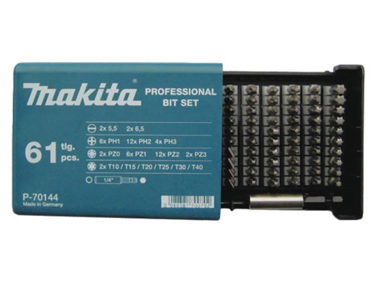 Makita Schroefbitset 61-dlg