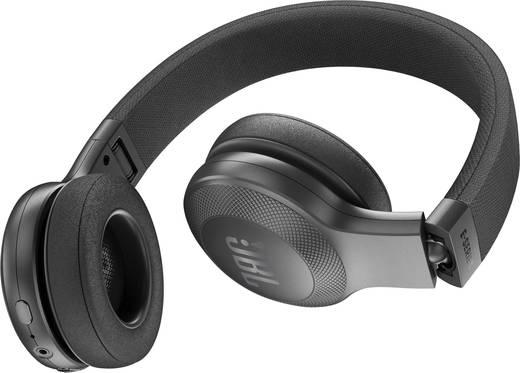 jbl koptelefoon. jbl harman e45bt bluetooth koptelefoon on ear vouwbaar, headset zwart jbl 0