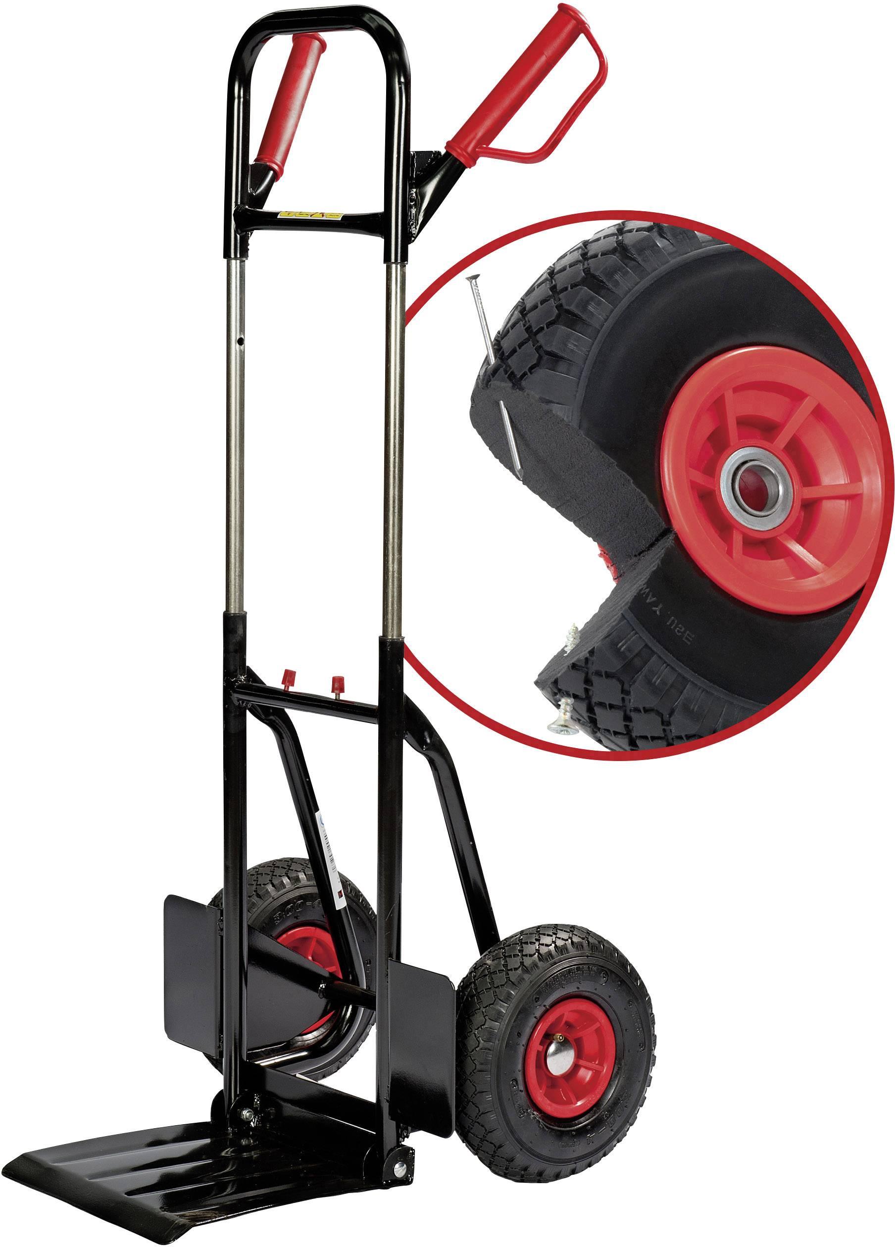 Pro Bau Tec steekwagen inklapbaar staal laadvermogen max 200 kg pro bau tec