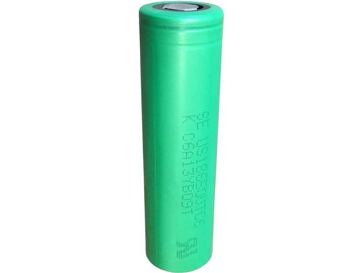Sony US18650VTC6 Speciale oplaadbare batterij 18650 Geschikt voor hoge stroomsterktes, Flat-top Li-ion 3.7 V 3000 mAh