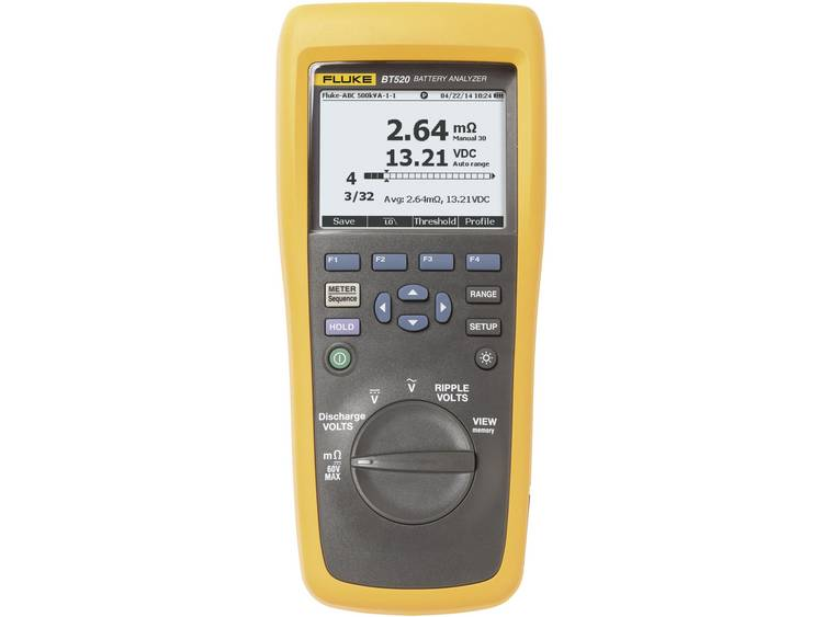Fluke Loodaccutester BT520 Meetbereik (batterijtester) tot 600 V Accu, Batterij 4489981