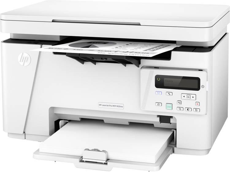 HP Multifunctionele laserprinter A4 Printen, Scannen, Kopiëren LAN, WiFi