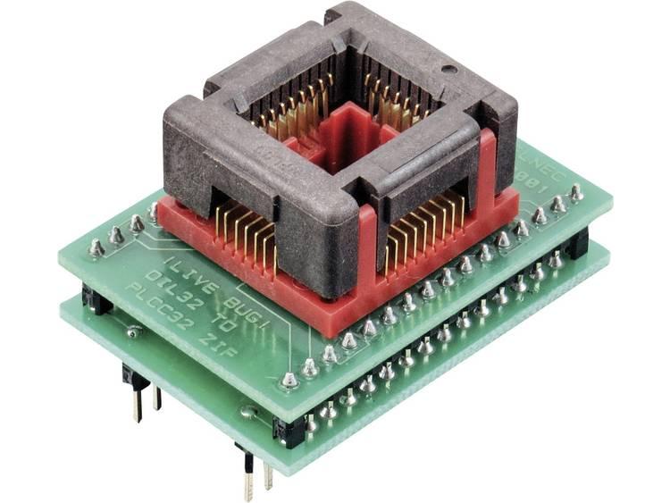 Adapter voor ELNEC-programmeur 70-0036 Elnec 70-0036 Uitvoering DIL 32-PLCC 32 ZIF