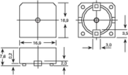 Piëzo-signaal Geluidsontwikkeling: 93 dB Spanning: 20 V Continu 150052 1 stuks