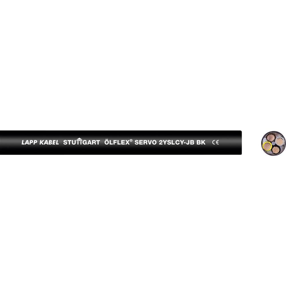 LAPP ÖLFLEX® SERVO 2YSLCY-JB Servokabel 4 G 25 mm² Zwart 1136456/500 500 m