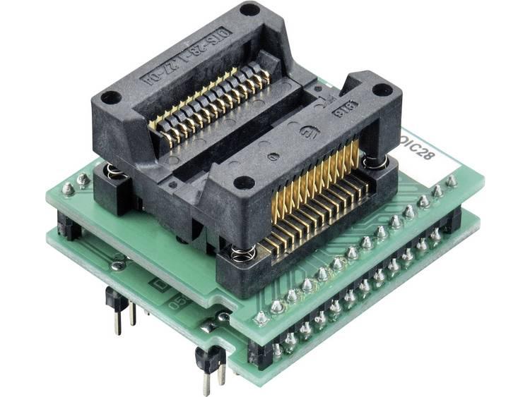 Adapter voor ELNEC-programmeur 70-0023 Elnec 70-0023 Uitvoering DIL 28-SOIC 28 ZIF 300 mil