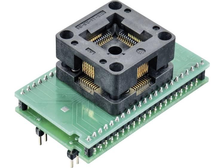 Adapter voor ELNEC-programmeur 70-0076 Elnec 70-0076 Uitvoering DIL 44-TQFP 44-1 ZIF