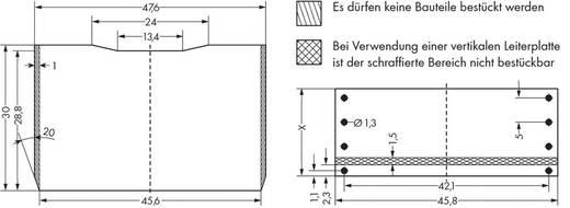 WAGO 286-110 Steekmodule zonder relais 1 stuks Geschikt voor serie: Wago serie 280 Geschikt voor model: Wago 280-618, W