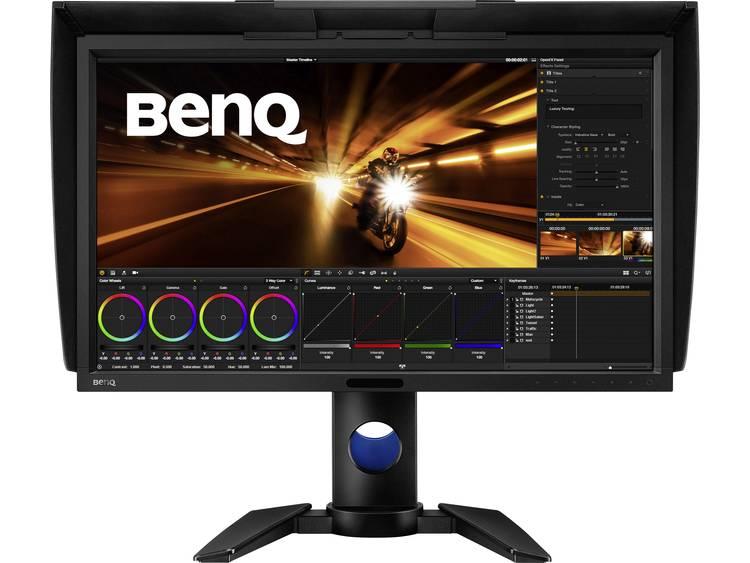 LED-monitor 68.6 cm (27 inch) BenQ PV270 Energielabel B 2560 x 1440 pix WQHD 5 ms USB 3.0, HDMI, DVI, SD, DisplayPort, Mini DisplayPort IPS LED