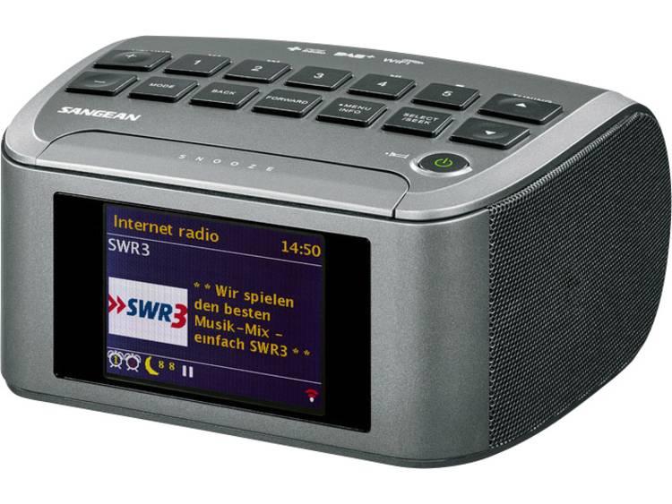 Sangean RCR-11 WF Internet Tafelradio AUX, DAB+, DLNA, Internetradio, FM, USB Gr