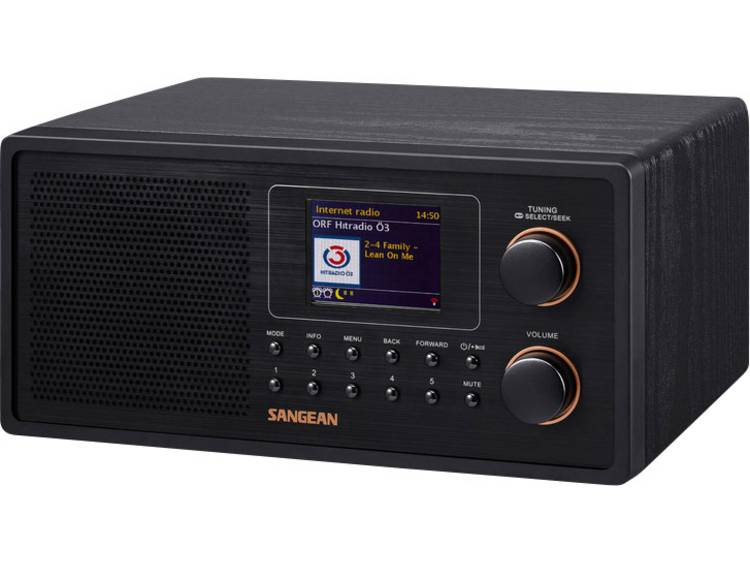 WFR-30 Tafelradio met internetradio DAB+, FM AUX, DLNA, Internetradio Spotify Zw