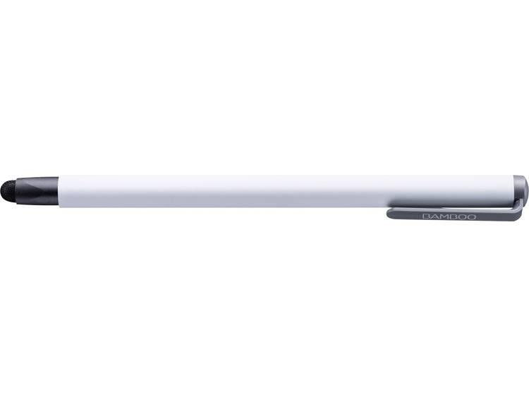 Touchpen Wacom Solo 4 verwisselbare carbonpunt Wit