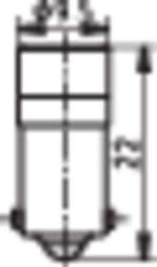 Signal Construct MWCB22049 LED-lamp BA9s Rood 24 V/DC, 24 V/AC