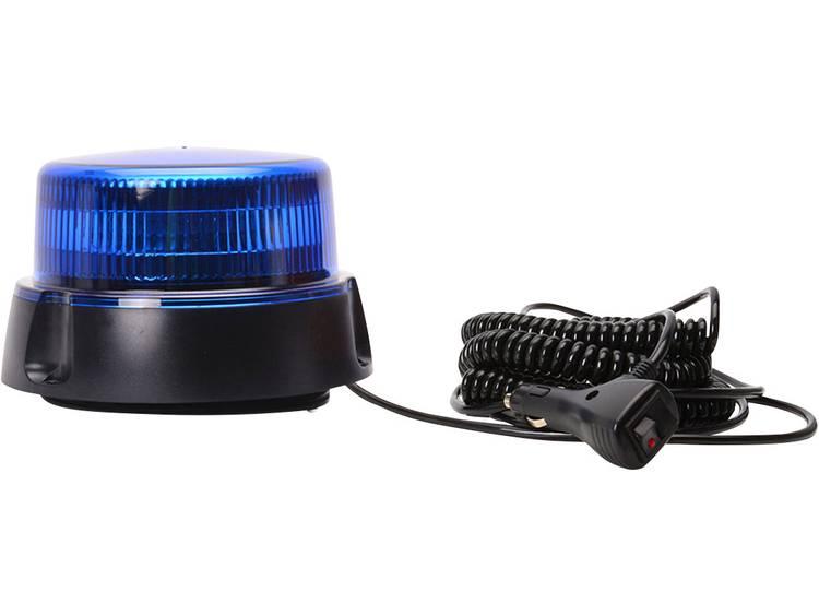 WAS Zwaailicht W112 853.2 12 V, 24 V werkt op boordnet Magneetvoet, Zuignapvoet, Schroefmontage Blauw