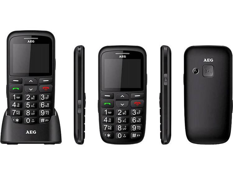 AEG Senioren mobiele telefoon Laadstation Zwart