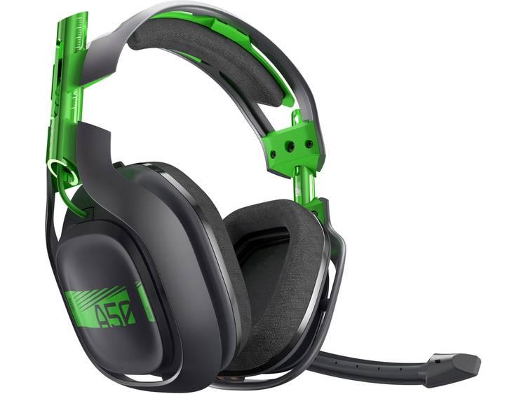 Gaming headset Draadloos Astro A50 Over Ear Zwart-groen