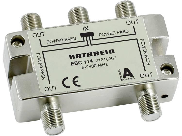 Kathrein EBC 114 SAT-verdeler 4-voudig