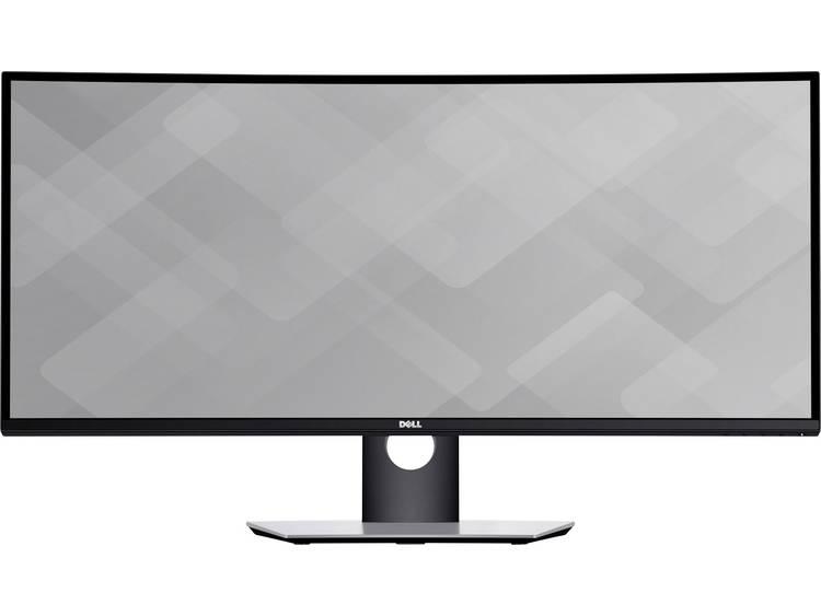LED-monitor 86.4 cm (34 inch) Dell U3417W Energielabel A 3440 x 1440 pix WQHD 5 ms USB 3.0, HDMI, DisplayPort, Mini DisplayPort IPS LED