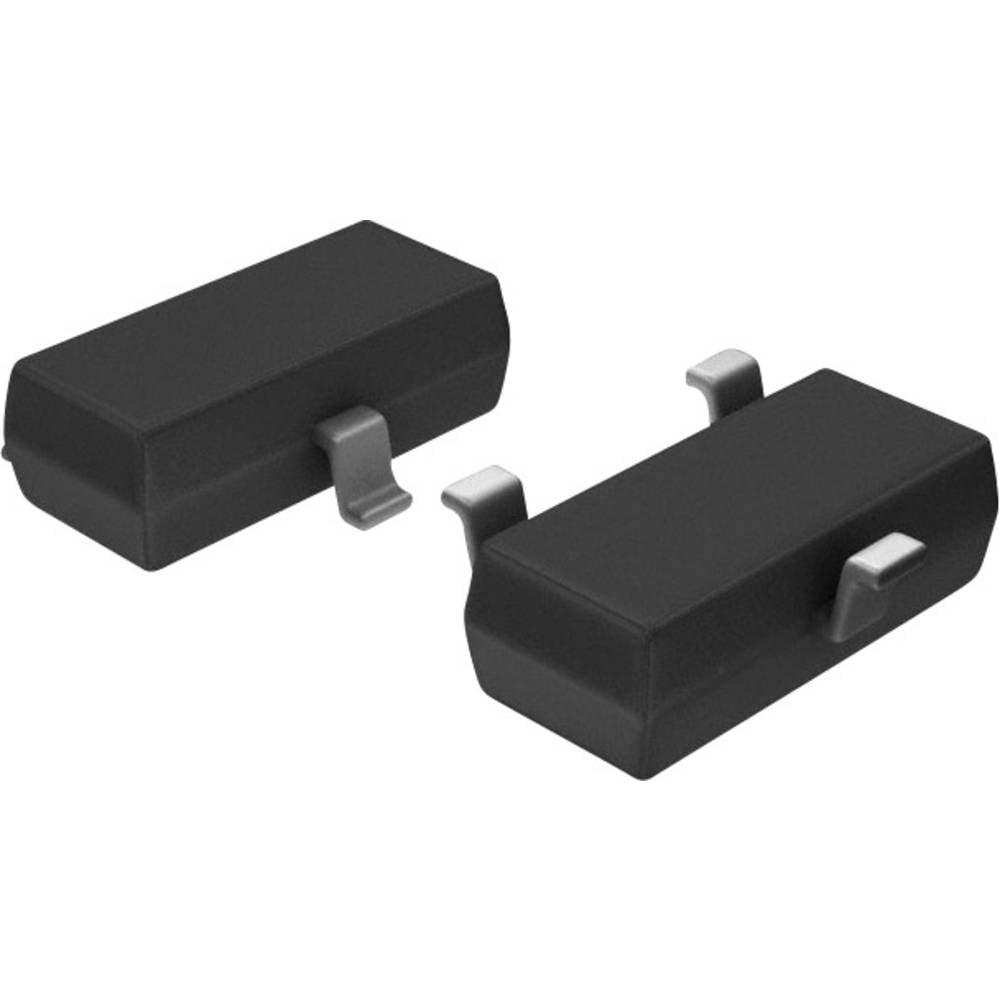Infineon Technologies Transistor (BJT) - discreet BC847B SOT-23-3 Aantal kanalen 1 NPN