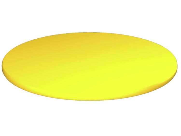 Apparaatmarkering Montagemethode: Plakken Markeringsvlak: 30 x 30 mm Geschikt voor serie Componenten en schakelsystemen, Universeel gebruik Geel Weidmüller CC