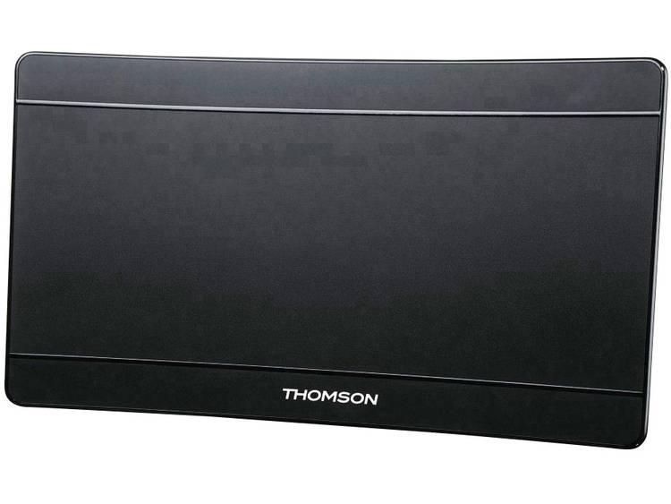 Thomson ANT1706-UHD/4K Actieve DVB-T/T2 platte antenne Binnen Versterking=43 dB Zwart