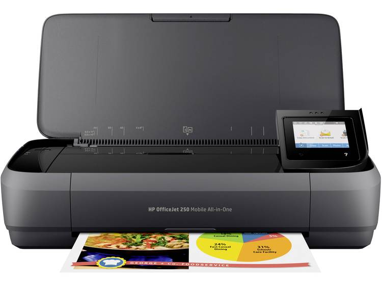 HP Officejet 250 AIO Mobile 7ppm USB (CZ992A#BHC)