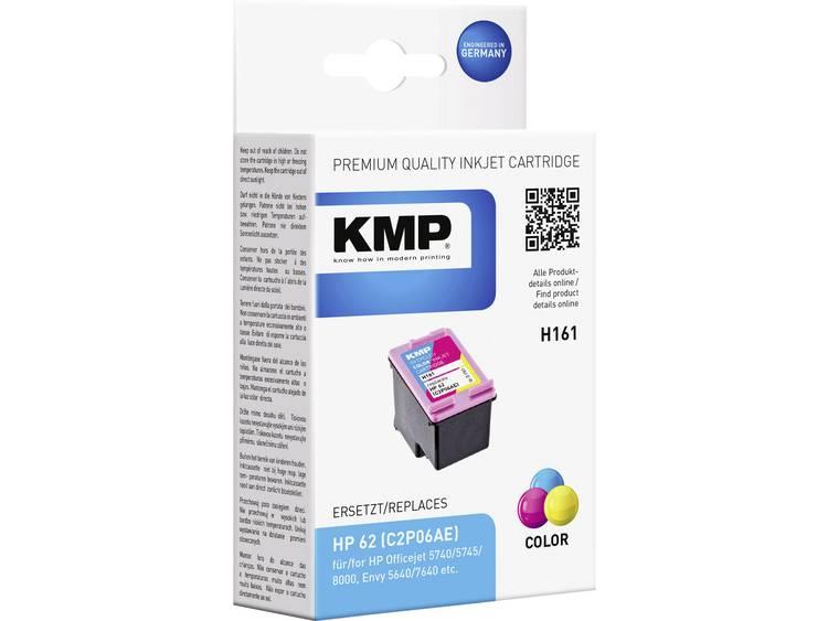 KMP Inkt vervangt HP 62 Compatibel Cyaan, Magenta, Geel H161 1741,4830