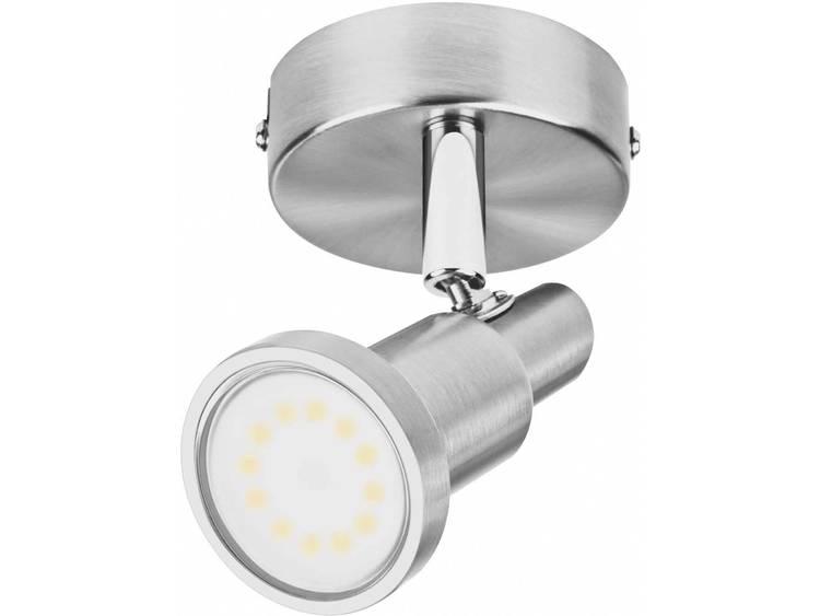 LED-plafondspot 3 W Warmwit OSRAM 4052899393653 Nikkel (geborsteld)