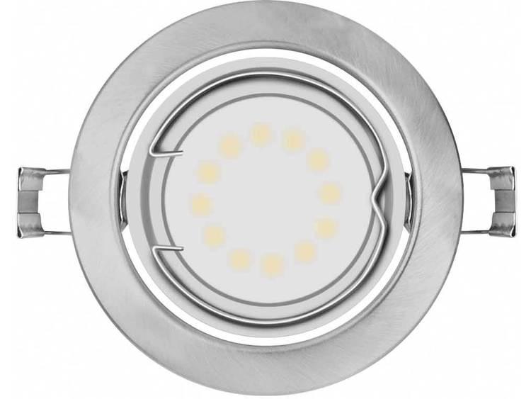 Set van 3 LED inbouwlampen Curl zwenkbaar