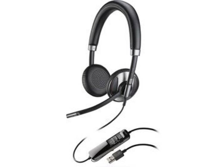 Plantronics Blackwire C725M USB Telefoonheadset Zwart