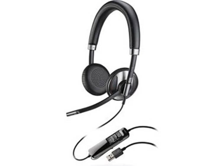 Plantronics Blackwire C725 USB Telefoonheadset Zwart