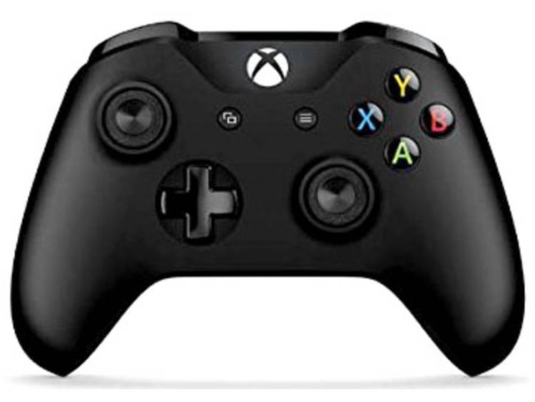 Microsoft Wireless Controller - schwarz Gamepad Xbox One, PC Zwart