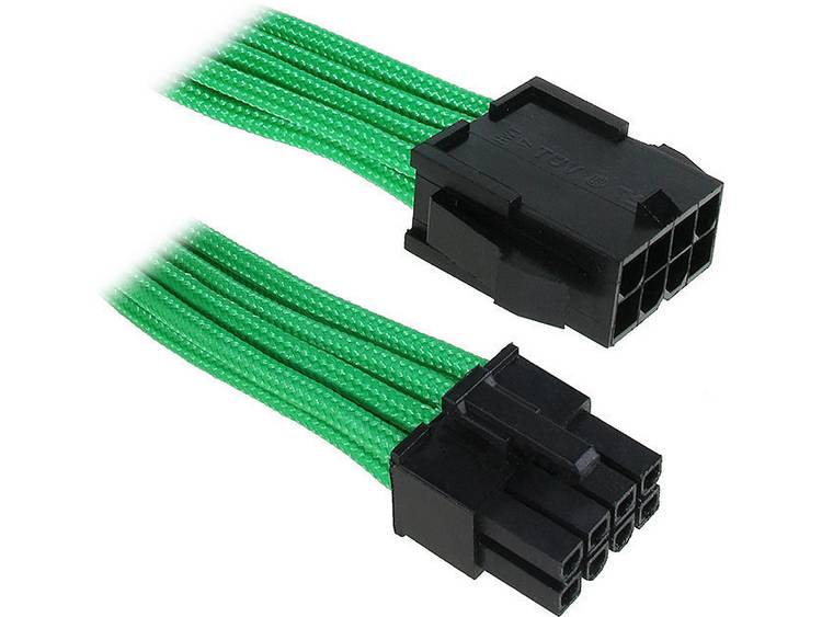 Verlengkabel Bitfenix Stroom [1x EPS-stroomstekker 8-polig - 1x EPS-stroombus 8-polig] 45 cm Groen, Zwart