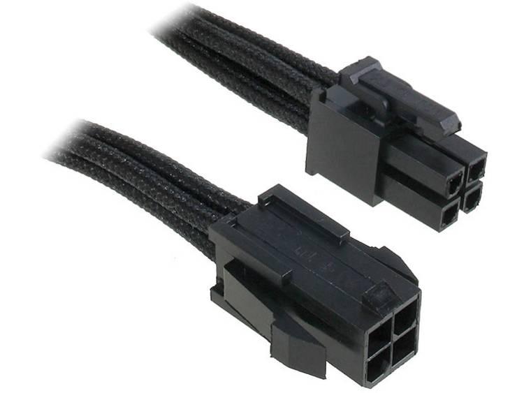 Verlengkabel Bitfenix Stroom [1x ATX stroomstekker 4-polig - 1x ATX stroombus 4-polig] 0.45 m Zwart