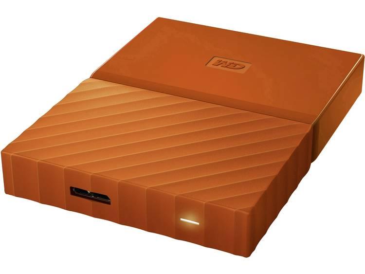 Western Digital My Passport 1 TB Externe harde schijf (2.5 inch) USB 3.0 Oranje