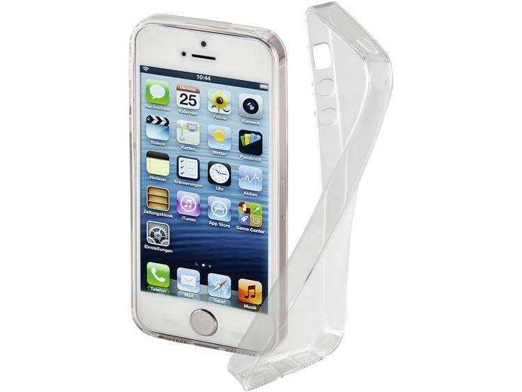 Hama Clear iPhone Backcover Geschikt voor model (GSMs): Apple iPhone 5, Apple iPhone 5S, Apple iPhone SE Transparant