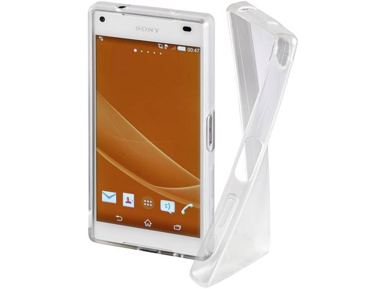 Hama GSM backcover Geschikt voor model (GSM's): Sony Xperia Z5 Compact Transparant