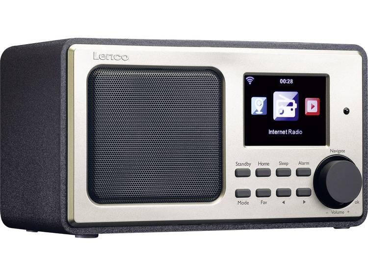 Lenco DIR-101 Tafelradio met internetradio Internet Internetradio, USB, AUX Zwar