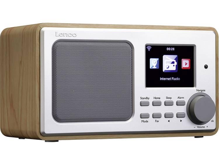 Lenco DIR-102 Tafelradio met internetradio Internet Internetradio, USB, AUX Hout