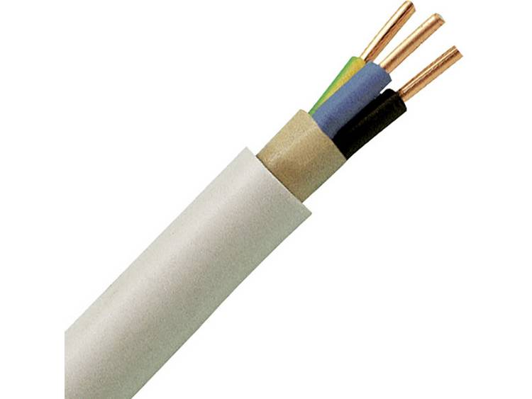 Kopp 150810841 Mantelkabel NYM-J 3 G 1.50 mm² Grijs 10 m