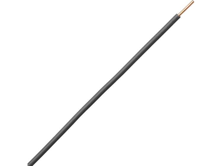 Kopp 154625009 Draad H07V-U 1 x 1.50 mm² Zwart 25 m